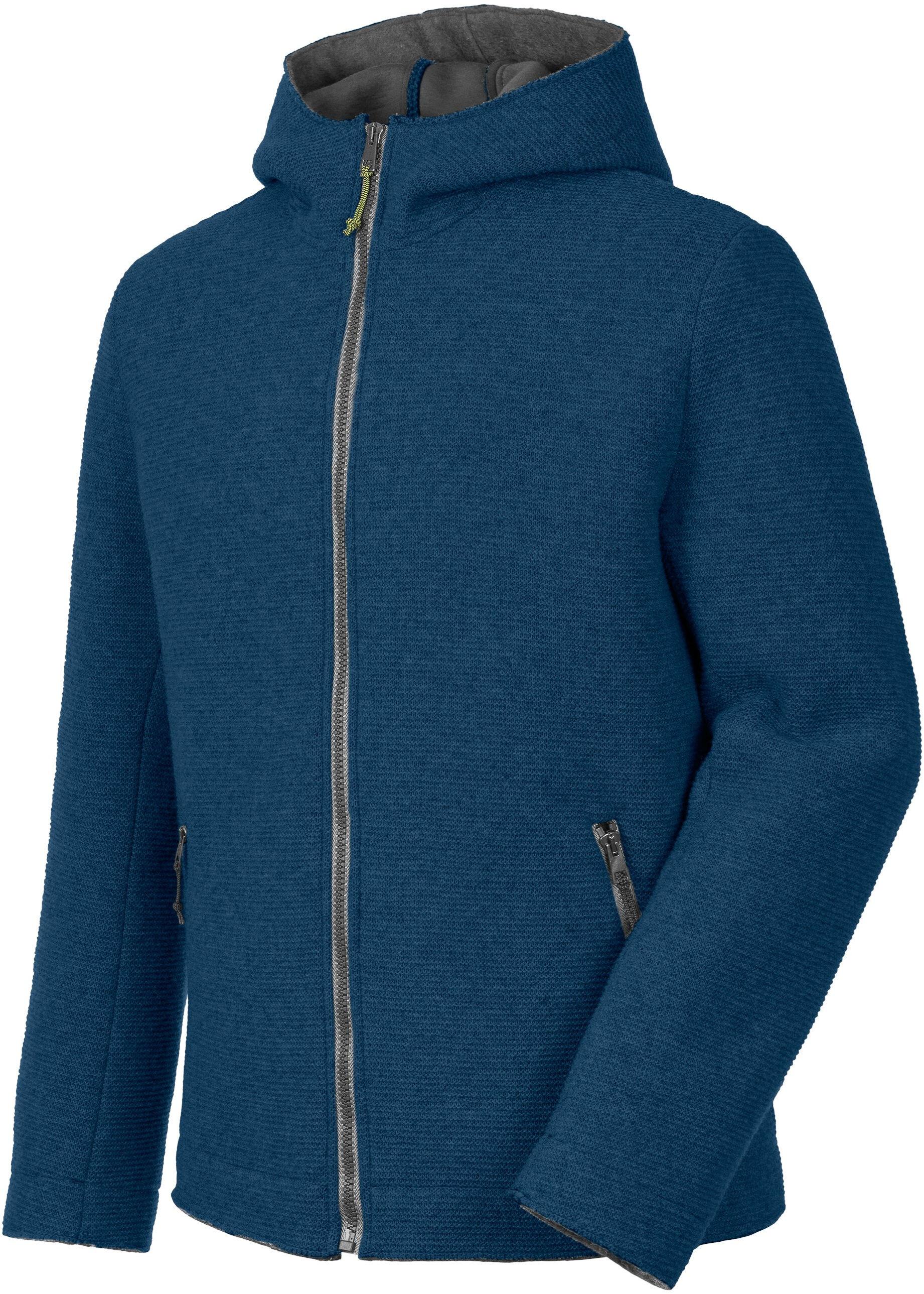 Salewa Sarner 2l Wool Full Zip Hoody Men Poseidon Tendencies Sweater Green Zipper Olive S